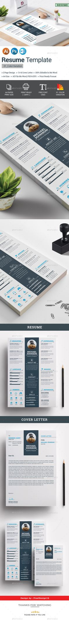 Resume Pinterest Template Resume