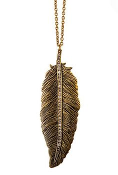 Womens Large Gold Crystal Studded Feather Pendant Necklace Shagwear,http://www.amazon.com/dp/B009L92N56/ref=cm_sw_r_pi_dp_.WC7sb0K4VP346AZ