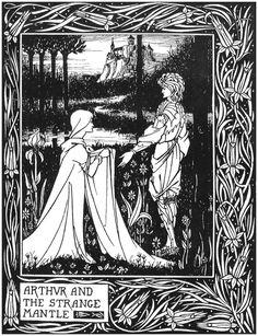Beardsley Illustrations for 'Le Morte d'Arthur' | headbugz