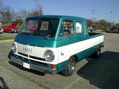 1967 Dodge A-100 Quad Cab conversion by splattergraphics, via Flickr