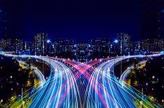 Arte y Arquitectura: Graffiti de Velocidad / Espejo de Simetría, por Shinichi Higashi © Shinichi Higashi