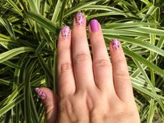 Jamberry Orchid Bouquet & Orchid  Http://leslieanne.jamberrynails.net