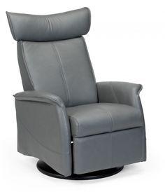London Swing Zero Gravity Relaxer  sc 1 st  Pinterest & The Dump Furniture - BLACK LEATHER RECLINER | house ideas ... islam-shia.org