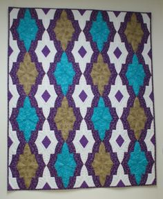SCHNIG SCHNAG - Quilts and more: Medaillon Quilt - Part 2