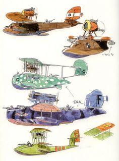 fictional Ghibli Studios Porco rosso Artwork 5