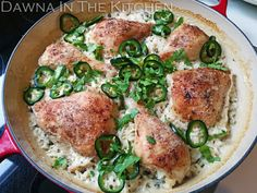 Dawna in the Kitchen: Coconut Lime Chicken & Rice Skillet