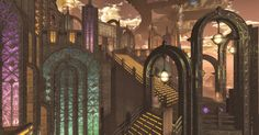 Fantasy, Walkway, Empire State Building, World, Glass, Travel, Sidewalk, Viajes, Drinkware