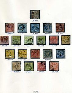 Bayern / Bavaria  alte #Briefmarken ~ old #stamps