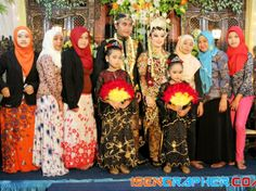 the traditional wedding ceremony in indonesia