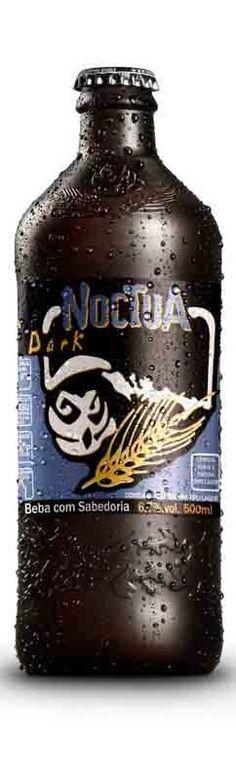 Cerveja Coruja Noctua Extra Dark Lager, estilo Dark American Lager, produzida por Coruja, Brasil. 6.7% ABV de álcool.