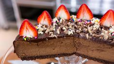 Donatella Arpaia shares a recipe for a decadent cheesecake that's great for celebrating Mother's Day or... just life in general!