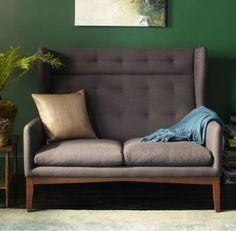 West Elm furniture | Highback banquette seating