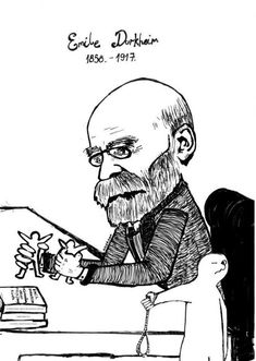 Emile Durkheim (1858 - 1917) Durkheim made innumerable contributions to the young discipline of sociology, but he is most often lauded for his demonstration that even a personal act, such as suicide, is powerfully shaped by social forces. [click on this image to find a clip that can be used to elucidate Durkheim's discussion of the sacred and profane]