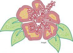 hibiscus | Bloemen en Planten | glittermotifs