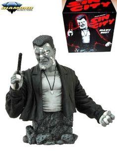 Diamond-Select-Toys-Sin-City-Movie-Marv-Resin-Bust-New