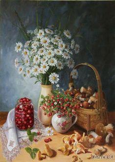 Гайдук Ирина. Натюрморт с грибами