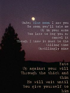 The Killing Moon -Echo and the Bunnymen