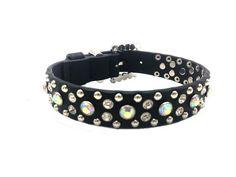 Cowgirl Bling Ranch, LLC - Rhinestone Bling Dog Collar with AB Stones, $24.99 (http://www.cowgirlblingranch.com/products/rhinestone-bling-dog-collar-with-ab-stones.html)