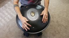 """F#/ C#, D#, E, F#, G#, A#, C# Another new scale for us on a 19"""" diameter Saraz: F# Mixolydian. I don't believe I have ever heard this scale on any handpan. Mixolydian scales have a special place in my heart. Flattening the major 7th is a nice transition from sugar sweet dreaminess to motivated seduction. Looking forward to extending this scale with a low A# on the bottom shell one day."""