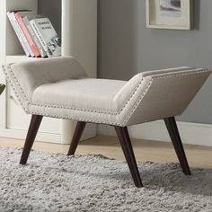 Found it at AllModern - Upholstered Entryway Bench