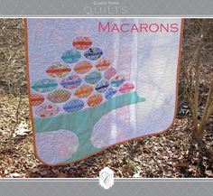 Moda Bake Shop: Macarons Lap Quilt