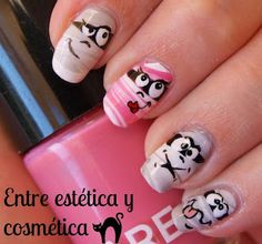 Halloween Nail Art   #RetoHalloweenNails - Monstruos: MOMIAS
