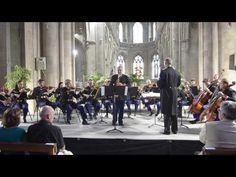 """Concert donné le 21 juillet 2015 au Festival """"Les Concerts en Valognais"""" saxophone solo Philippe Chebrou et Orchestre à Cordes de la Garde Républicaine de Pa..."""