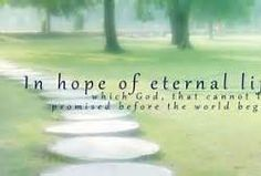 """Why Embrace Hope?  Hope is what gets us through the day; through the trials and tribulations of life's journey. God gives us a """"hope that ...Read more by visiting http://virginialieto.com/category/hope."""