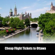Cheap Flights Tickets to Ottawa Ottawa city stands on the bank of the Ottawa river. Feel the beauty of the city by visiting at lowest airfare.