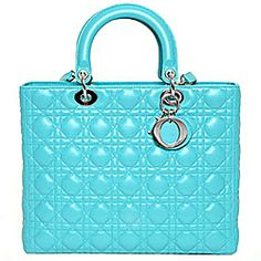 Christian Dior, Chanel quilt print, and Tiffany blue....perfect combination :)