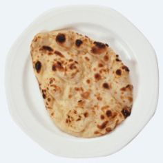 Indian Dairy-Free Vegan Naan Recipe.  This is SO easy! I left out the onion powder and used coconut oil to fry.  High heat is not necessary - lots of smoke!