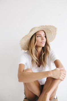 Addie - Women's Straw Sun Hat