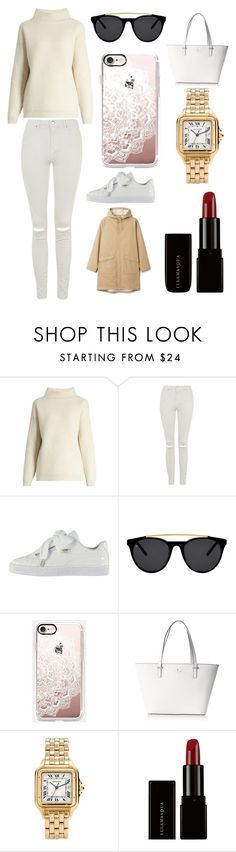 """""""Sans titre #2720"""" by merveille67120 ❤ liked on Polyvore featuring Diane Von Furstenberg, Topshop, Puma, Smoke x Mirrors, Casetify, Kate Spade, Cartier and Illamasqua"""