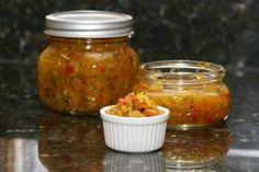 Zucchini Green Tomato Relish - Photo: Diana Rattray