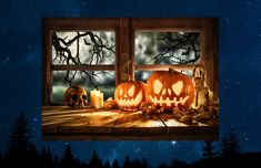 Halloween Window Clings, Indoor Lights, White Wrapping Paper, Pumpkin Jack, Glass Butterfly, Window Art, Jack O, Video Clip, Suncatchers