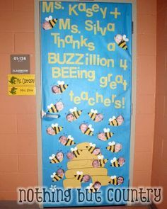 teacher appreciation door decorating ideas - Google Search