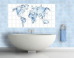 Vintage Product picture Tile Mural Sea World