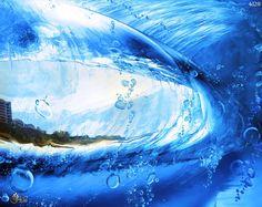 Tras la ola Art by 4D2