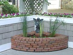 Water Features for Any Budget : Home Improvement : DIY Network: Small and simple water features find a place on any patio or deck.