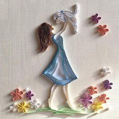 Me gusta, 63 comentarios - Olga Yaroslavtsev - Quilling Ideas Arte Quilling, Quilling Dolls, Paper Quilling Cards, Paper Quilling Tutorial, Paper Quilling Patterns, Origami And Quilling, Quilling Craft, Quilling Flowers, Paper Flowers