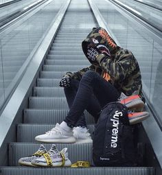 9 Jolting Unique Ideas: Urban Fashion Photoshoot Senior Pics urban wear for men long Urban Fashion Adidas Originals urban fashion style high waist. Sneaker Outfits, Bape Outfits, Urban Fashion Girls, New Fashion, Trendy Fashion, Fashion Outfits, Fashion Menswear, Street Fashion, Fashion Shoot