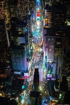 """Times Square, NYC - And that's not even on New Year's Eve! We get a million+ people in a small space every year, & we love it, & somehow, it's always done """"right""""."""