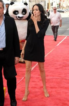 """Angelina Jolie at the """"Kung Fu Panda"""" DVD Release and """"Secrets Of The Furious Five."""