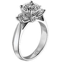 This is and always has been the (Scott Kay) engagement ring MADE for my finger!!! <3 it. =)