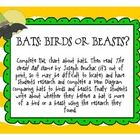 Great activity for Halloween or just learning about bats!Pack includes a KWL chart, Venn Diagram in the shape of a bat, and paper for writing pro...
