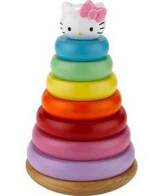 Hello Kitty Ring Stacker Playset.