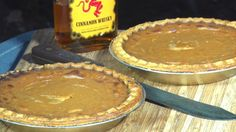 Fireball Whiskey Pumpkin Pie Recipe By The BBQ Pit Boys -- Watch BBQ Pit Boys create this delicious recipe at http://myrecipepicks.com/1144/BBQPitBoys/fireball-whiskey-pumpkin-pie-recipe-by-the-bbq-pit-boys/