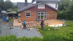 Starting Floor and deck