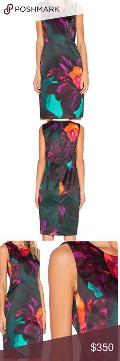 e8ce3f0cf31 🎉⚡️MILLY Twilight Floral Bianca Sheath Dress