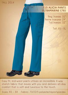 715 ALICIA Pants | 715-78 (Ultramarine)
